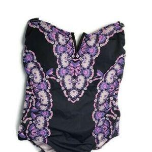 Victoria's Secret One-Piece Swimsuit Floral M